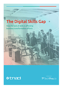 The Digital Skills Gap Cover