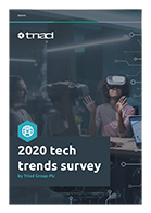 Image of 2020 tech trends cover page